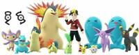 BANDAI Pokemon Scale World Johto Region 1/20 Scale Figure Completed Set JAPAN