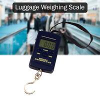 40kg Digital Travel Portable Handheld Weighing Hand Luggage Scales Suitcase Bag
