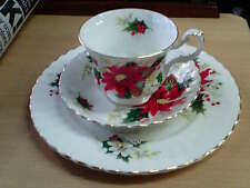 Superb Royal Albert Bone China 'Yuletide' Trio