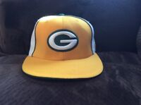 NFL REEBOK GREEN BAY PACKERS FITTED CAP 7 5/8 100% Wool