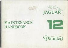 Jaguar XJ12 & Daimler Double Six SIII original Handbook 1979 AKM 8046