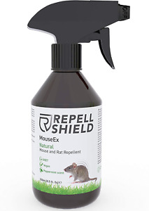 REPELL SHIELD Rodent Repellent Spray - Peppermint Oil Spray To Repel Rodents As