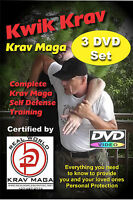 """KRAV MAGA 8 Disk Set"" -Punches-Knife Disarms-Weapons-Kicks-Workout DVD's"