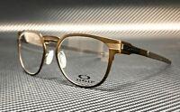 OAKLEY OX3229 0252 Pewter Round Metal Men's 52 mm Eyeglasses