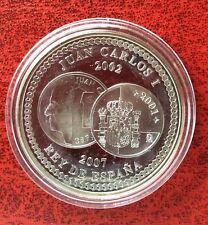Espagne - Magnifique monnaie de 10 Euros 2007  Proof en Argent - 5 Ans de l'Euro