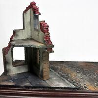Military Diorama Scenery Ruins Corner House 1/35 Sand Table Model Buildings