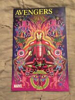 Avengers #2 Alan Aldridge Iron Man By Design 1:15 Variant [Marvel Comics, 2010]