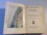 The Land Of Israel Robert Laird 1889 Fleming H. Revell Hardcover w/Maps
