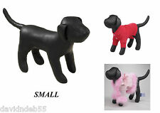 SMALL DOG MANNEQUIN Stuffed Display Model Manequin For Clothing Apparel Collar