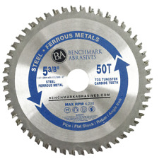 """5-3/8"""" 50 Tooth TCT Saw Blade for Steel/Metal"""