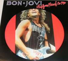 "BON JOVI Lay Your Hands On Me Rare 1989 UK Limited Edition 10"" Picture Disc"