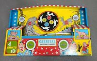 VINTAGE OHIO ART CARNIVAL SHOOTING GALLERY ~ 1950s Tin Toy Target #575-K