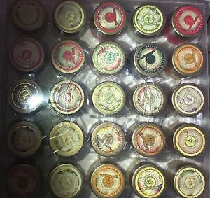 Gold Canyon Christmas Candle Wax Melts Mini Tin Set Of 25