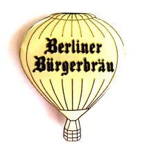 BIER Pin / Pins - BERLINER BÜRGERBRÄU weiß
