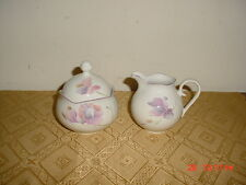 "3-PC MIKASA RONDO ""TRIO"" CREAM AND SUGAR BOWL WITH LID/EJ909/JAPAN/CLEARANCE!"