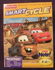 NEW Factory Sealed Cars II 2 Smart Cycle Game Cartridge Mater Lightning McQueen