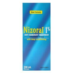 Nizorall 1% Anti-Dandruff Treatment 200mL Shampoo with Deep Conditioning