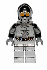 New LEGO STAR WARS TC-14 Protocol Droid (Chrome) Minifigure sw0385 Authentic
