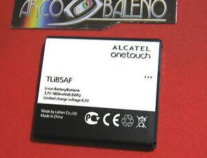 BATTERIA 1800Mah ORIGINALE 100% ALCATEL ONE TOUCH 997D X'POP 5035X 5035 tlib5af