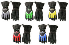 SnowMobile Gloves w/ Wiper - ClearVisionUsa - Choose Color & Size