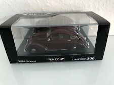 1:43 NEO Scale Models LIMITED 300 ADLER 2.5L Autobahn Exclusive ModelCarWorld