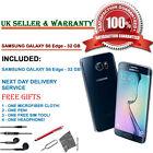 Samsung Galaxy S6 Edge SM-G925F 32GB Black Sapphire Unlocked Smartphone GRADE C