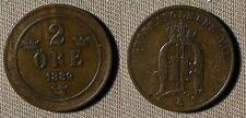 Sweden : 1889 2 Kr  XF  #741   IR2103
