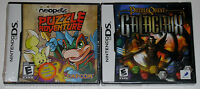 Nintendo DS Game Lot - Neopets Puzzle Adventure (New) Puzzle Quest Galactrix