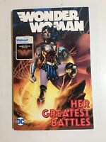 DC Comics~ Wonder Woman ~Her Greatest Battles~Wal-Mart Exclusive~Trade Paperback