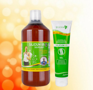 Silicium G5 Siliplant 1000ml & 150ml Silicium Gel - Organic High Bioavailability