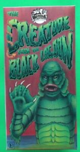 """Universal Monsters 9""""  THE CREATURE Tin Wind-Up Robot, Robot House Japan 1991"""