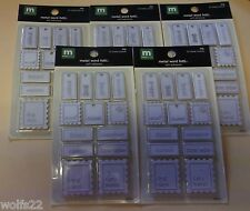 {{5}} Making Memories Metal Dog Word Fetti Cards ~ Dog Sayings ~ NEW