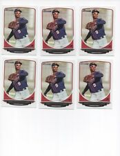 Lot Of 6 MINT Condition Byron Buxton 2013 Bowman Rookie Cards