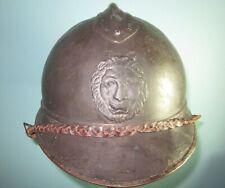named 59cm Belgian M15 Adrian helmet poilu casque stahlhelm casco elmo 胄 шлем WW