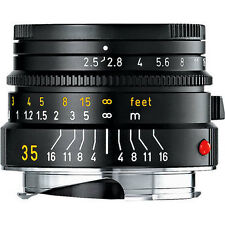 SALE!  Leica M Summarit-M 1:2.5/35 mm 11643 , NEW with Leica International Warra