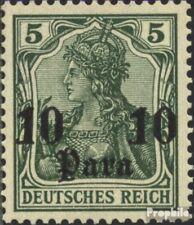 Duits. Post Turkije 24 met gomstrook 1905 Germania zonder WZ
