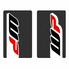4MX Fork Decals WP Carbon Stickers fits Honda CRF250 R- 04-10