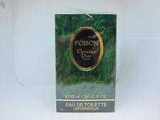 Christian Dior Poison 100 ml 3.3 oz Eau De Toilette EDT parfum perfume 17Aug18