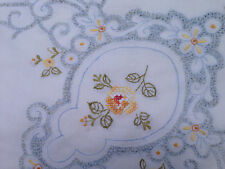 Embroidered 100% Cotton Table Cloths