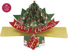 Musical 'Rockin' Around The Christmas Tree' Pop-Up 3D Christmas Card Pop Up Card