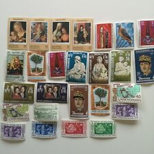 50 Different New Hebrides Stamp Collection