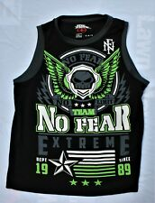 """CLASSIC"" No Fear Mens Tank Top Tee Crewneck Black Green No Limit Size SMALL"
