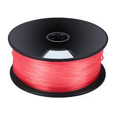 3mm filamento PLA PER STAMPANTI 3D ROSSO elemento FIBRA FILO Spool (per 3 mtrs)