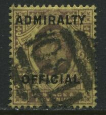 KEVII 1903 3d Admiralty Official used