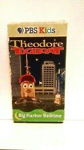 Theodore tugboat big harbor bedtime pbs kids. Rare vhs