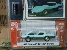 Greenlight MUSCLE  1978 Chevrolet Corvette Custom  two-tone blue