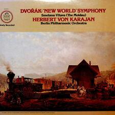 Dvorak: New World Symphony - Karajan/Berlin Philharmonic - Quadraphonic LP