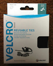VELCRO 60254 SELF GRIPPING ADJUSTABLE REUSABLE TIES CABLE TIDY 30mm x 5m