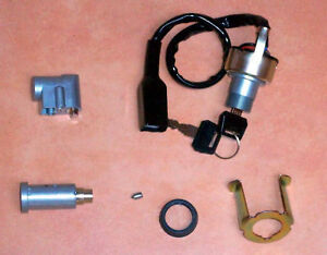 Komplett Schloss Satz für Kawasaki Z1 900 Z900 Ignition Seat Steering Lock