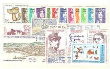 ANNEE COMPLETE 1990 TIMBRES NEUFS ** St PIERRE ET MIQUELON